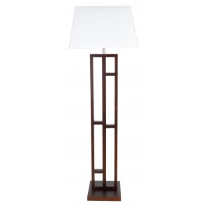 Fuji Floor Lamp in Chocolate V M Imports
