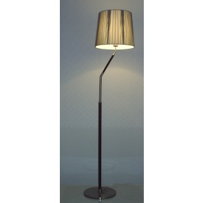 VM1400 Damone Floor Lamp in Black Shade V M Imports