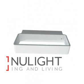 WALL INTERNAL Surface Mounted CITY LED MATT White Rectangular Up Down 4W 120D 3000K (302 Lumens) CLA