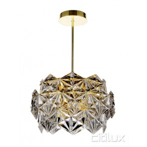 Vera 6 Lights Pendant Gold Citilux