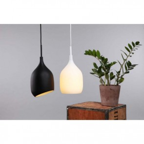 Vessel Gloss Black Pendant by Decode