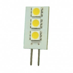 12V 0.6W G4 LED Bi-Pin Lamp in Cool White Vibe Lighting