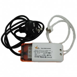 12V 60VA Electronic Transformer with Plug and Lead Vibe Lighting