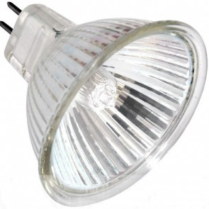 20W Low Voltage MR16 Halogen Bulb with cover glass and 38ø beam angle Vibe Lighting