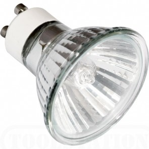 35W GU10 Halogen Reflector Lamp with 50ø beam angle in Warm White Vibe Lighting