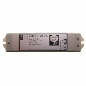 3W (350mA) LED Constant Current Driver with 3 Outlets Vibe Lighting