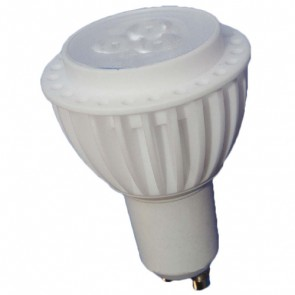 3W GU10 LED 240V Lamp in White Vibe Lighting