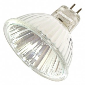 50W Low Voltage MR16 Halogen Bulb with cover glass and 38ø beam angle Vibe Lighting
