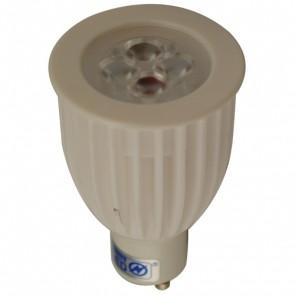8W LED GU10 Ceramic Lamp in Warm White Vibe Lighting