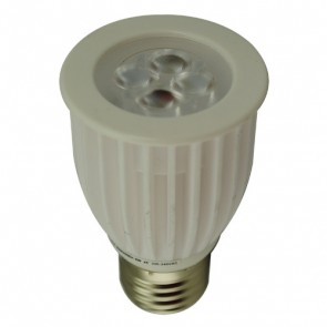 8W LED PAR16 Ceramic Lamp in Cool White Vibe Lighting
