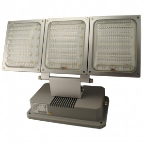 90W LED Floodlight with Silver Trim Vibe Lighting