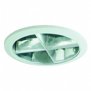 Cross Louvre for VB9798 Fitting in White Vibe Lighting