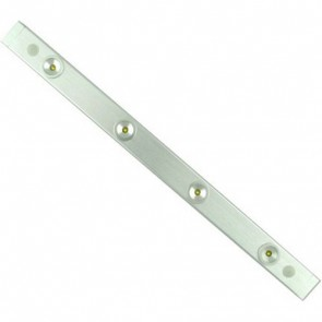 Designer 32cm LED Barlight 4 x 1W Philips LED White Vibe Lighting