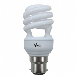 Energy Saving T2 Spiral 15W CFL with BC Base in Daylight Vibe Lighting