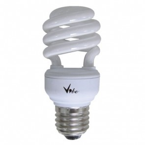 Energy Saving T2 Spiral 15W CFL with ES Base in Daylight Vibe Lighting