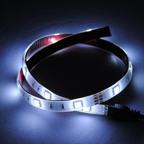 Flexible 100cm LED Strip Light Kit in Cool White Vibe Lighting