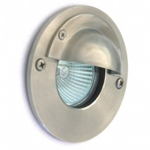 Low Voltage Inground Up Light with Eyelid in Stainless Steel Vibe Lighting