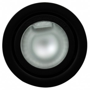 Low Voltage Recessed Shelf Light in Black Vibe Lighting