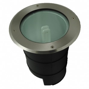 PLC 26W Inground Up Light in Stainless Steel Vibe Lighting