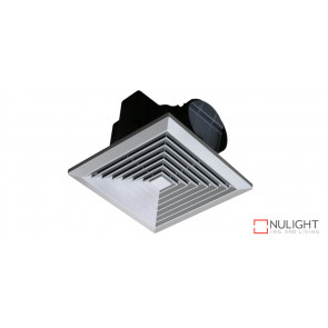 JUMBO - 250mm -  High Volume Side ducted Square  Exhaust Fan - Silver VTA