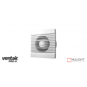 SLIMLINE 100 - 100mm Wall-Window-Ceiling Exhaust fan - White VTA