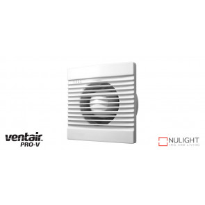 SLIMLINE 125 - 125mm Wall-Window-Ceiling Exhaust fan - White VTA