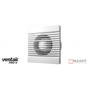 SLIMLINE 150 - 150mm Wall-Window-Ceiling Exhaust fan - White VTA