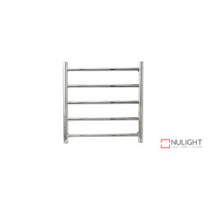 AZTEC 5 - Five Rail - Stainless Steel Heated Towel Rail - Rounded Rails VTA