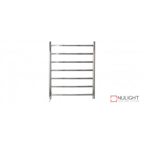 AZTEC 7 - Seven Rail - Stainless Steel Heated Towel Rail - Rounded Rails VTA
