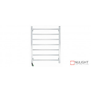 JASPER 7 - Seven Rail - Stainless Steel Heated Towel Rail - Square Rails VTA