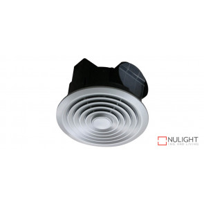 TURBO - 250mm -  High Volume Side ducted Round Exhaust Fan - Silver VTA