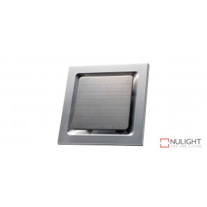"""OVATION 250 - 10"""" Square Exhaust Fan - Stainless Steel Finish VTA"""