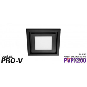 Airbus 200 Black LED Fascia Square VTA