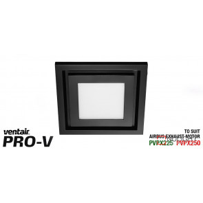 Airbus 250 Black LED Fascia Square VTA