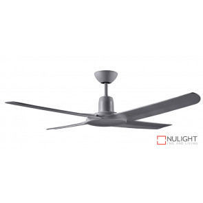 MALIBU IP55 - 1320mm ABS 4 Blade Ceiling Fan - Titanium - Suitable for outdoors VTA