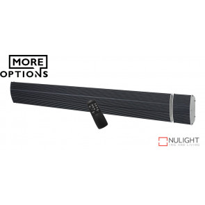 HEATWAVE PRO Radiant Strip Heater - Ideal for outdoor areas IP65 - Remote Control Included VTA