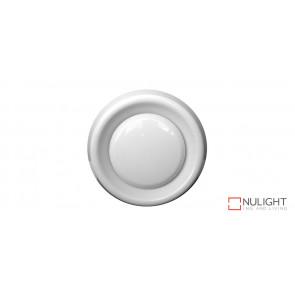 100mm White Round Interior Air Intake Grille VTA