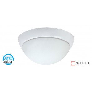 15w LED Oyster Light, 1400-1500Lm, 4200K Natural White  - White - To suite Harmony Ceiling Fans only VTA