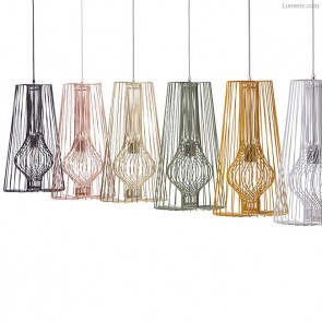 Wire Pendant Light by Decode
