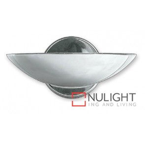 Wall Uplight 200W Dish Chrome ASU