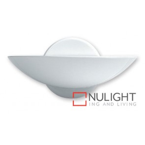 Wall Uplight 200W Dish White ASU