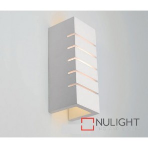 Plaster Wall Light Slotted E14 ASU