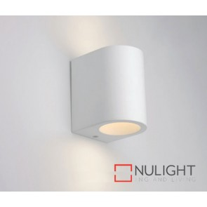 Plaster Wall Light Curved G9 ASU
