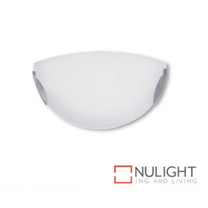 Wall Light 100W Halo Satin Chrome ASU