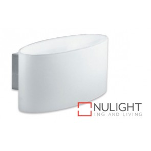 Wall Light Glass Oval White G9 50W ASU