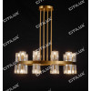 Ring K9 Crystal Up And Down Double Head Chandelier Small Citilux