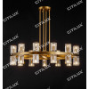 Ring K9 Crystal Upper And Lower Double Chandelier Medium Citilux