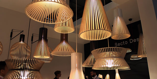 Natural timber lights by citilux